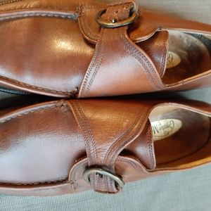 GENUINE MOCCASIN BY BOSTONIAN BROWN SHOES SIZE 10M